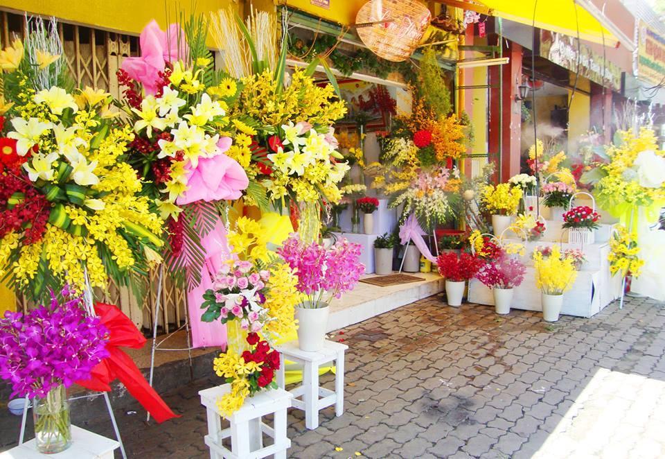Kinh doanh tại nhà - bán hoa