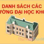 Danh sách các trường đại học khối B ở Hà Nội dễ xin việc