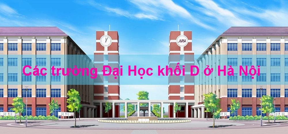 các trường đại học khối d