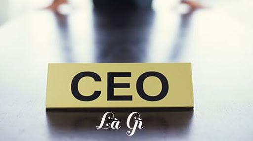 CEO ngân hàng là gì?