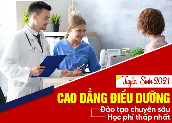 thông tin tuyển sinh ngành Điều dưỡng
